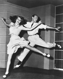 Rita Hayworth and Fred Astaire in William A Seiter's You Were Never Lovelier (1942)