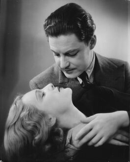 classic portraits/robert donat madeleine carroll alfred hitchcocks