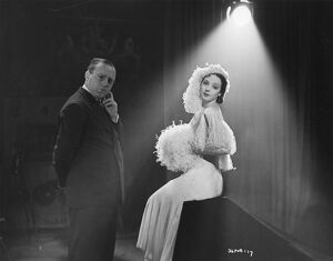 Victor Saville (Director) and Jessie Matthews in Evergreen (1934)